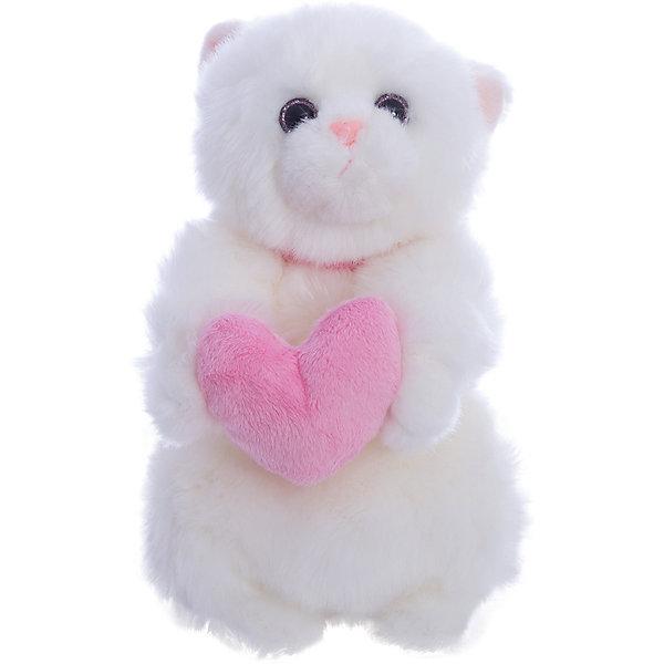 Фотография товара кошечка Лулу, 20 см с сердечком, Gulliver (4533899)