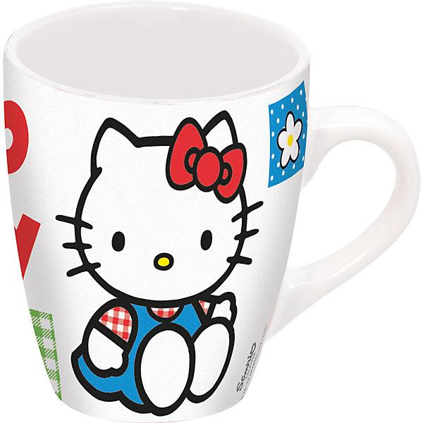 Керамическая кружка Hello Kitty 360 мл, МФК-профит, Китай, Женский  - купить со скидкой