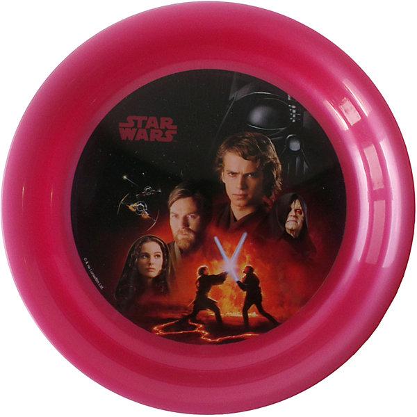 Тарелка Звездные войны (диаметр 19 см), Звездные войны, бордовыйДетская посуда<br>Бордовая тарелка Звездные войны (диаметр 19 см), Звездные войны – это отличный подарок для фаната вселенной Star Wars.<br>Тарелка Звездный войны выполнена из полипропилена и оформлена рисунком с изображением героев знаменитой саги. Тарелка не подходит для использования в посудомоечной машине и СВЧ-печи.<br><br>Дополнительная информация:<br><br>- Диаметр: 19 см.<br>- Глубина: 2 см.<br>- Материал: полипропилен<br>- Цвет: бордовый<br>- Размер упаковки: 19 х 19 х 2 см.<br>- Вес: 45 гр.<br><br>Бордовую тарелку Звездные войны (диаметр 19 см), Звездные войны можно купить в нашем интернет-магазине.<br>Ширина мм: 190; Глубина мм: 190; Высота мм: 20; Вес г: 45; Возраст от месяцев: 36; Возраст до месяцев: 120; Пол: Унисекс; Возраст: Детский; SKU: 4536249;