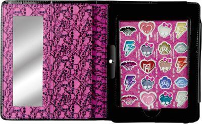 Игровой набор детской декоративной косметики в чехле для планшета, Monster High, артикул:4540659 - Наборы детской косметики