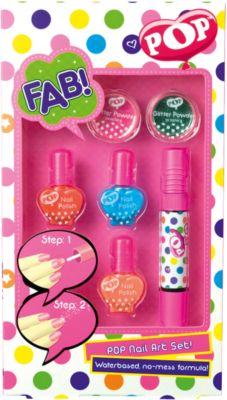 Игровой набор детской декоративной косметики  POP  для ногтей, артикул:4540662 - Наборы детской косметики