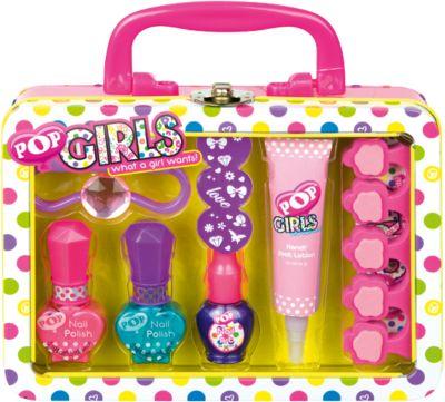 Игровой набор детской декоративной косметики  POP  для ногтей, артикул:4540665 - Вне категории Kerstin - Девочки