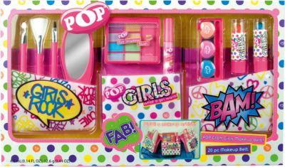 Игровой набор детской декоративной косметики  POP  с поясом визажиста, артикул:4540667 - Наборы детской косметики