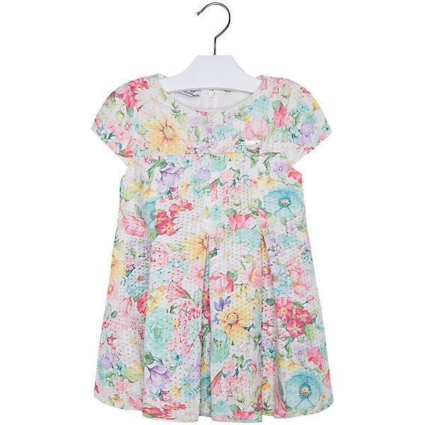 Купить Платье для девочки Mayoral, Индия, голубой, 122, 92, 98, 110, 134, 128, 116, 104, Женский
