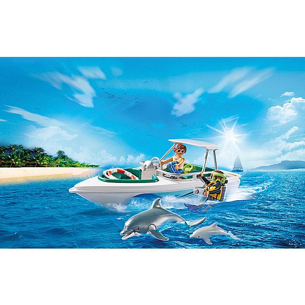 Фото - PLAYMOBIL® Конструктор Playmobil Дайвинг с катером, 11 деталей видеокамера
