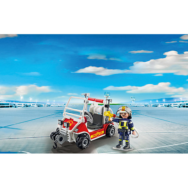 PLAYMOBIL® Конструктор Playmobil Городской Аэропорт Пожарный квадроцикл