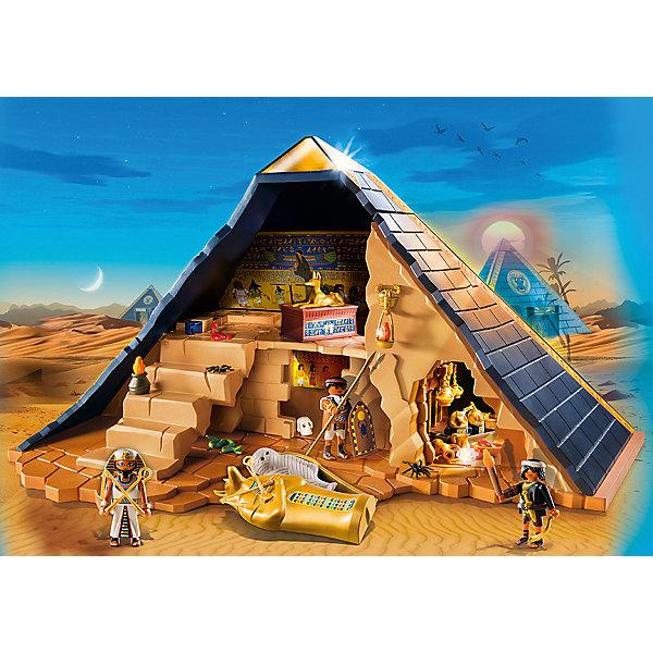 PLAYMOBIL® Конструктор Playmobil Римляне и Египтяне Пирамида Фараона ганапольский м черная рука и пирамида хеопса