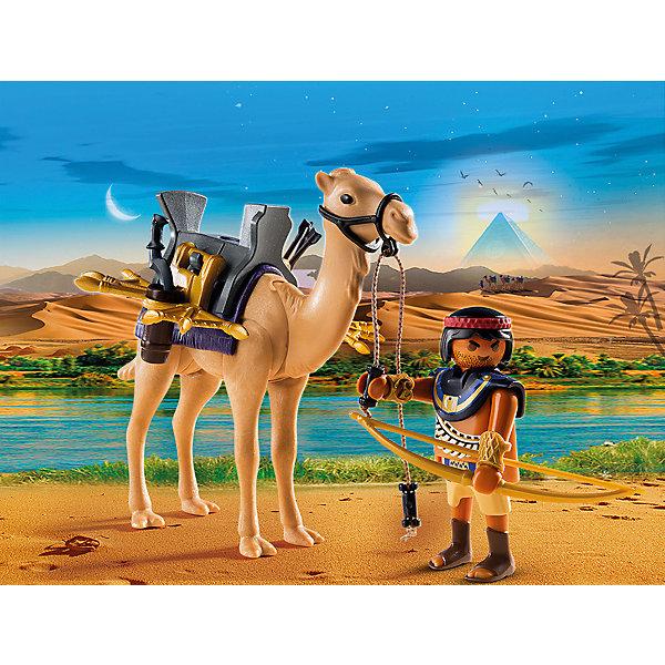 PLAYMOBIL® Конструктор Playmobil Римляне и Египтяне Египетский воин с верблюдом playmobil игровой набор римляне и египтяне римское войско
