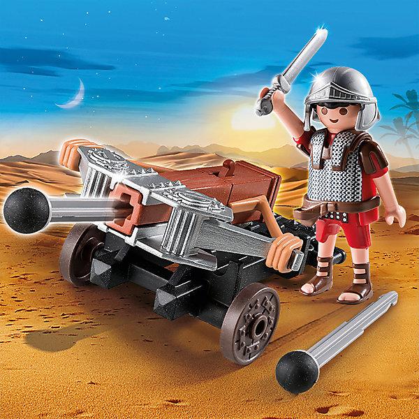 PLAYMOBIL® Конструктор Playmobil Римляне и Египтяне Легионер с Баллистой playmobil игровой набор римляне и египтяне римское войско