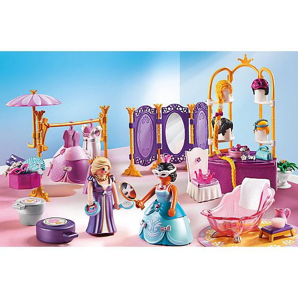 PLAYMOBIL® Конструктор Playmobil Замок Принцессы Гардеробная с салоном playmobil игровой набор трактор с прицепом