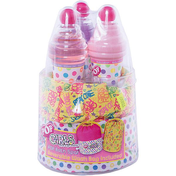 Игровой набор детской декоративной косметики POP для душаГели для купания<br>Характеристики:<br><br>• Наименование: детская декоративная косметика<br>• Предназначение: для сюжетно-ролевых игр<br>• Пол: для девочки<br>• Материал: натуральные косметические компоненты, пластик<br>• Цвет: синий, розовый, красный и др.<br>• Комплектация: гель для душа, крем для тела, мерцающий гель для тела с блестками, сумочка<br>• Размеры (Д*Ш*В): 24*15*15 см<br>• Вес: 495 г <br>• Упаковка: водонепроницаемая сумочка<br><br>Игровой набор детской декоративной косметики POP для душа – это набор игровой детской косметики от Markwins, которая вот уже несколько десятилетий специализируется на выпуске детской косметики. Рецептура декоративной детской косметики разработана совместно с косметологами и медиками, в основе рецептуры – водная основа, а потому она гипоаллергенны, не вызывает раздражений на детской коже и легко смывается, не оставляя следа. Безопасность продукции подтверждена международными сертификатами качества и безопасности. <br>Игровой набор детской декоративной косметики POP состоит из косметических средств для принятия душа и ухода за кожей после гигиенических процедур. Флакончики с гелями и кремами упакованы в водонепроницаемый яркий мешочек-сумочку. Гигиенические средства, входящие в набор, имеют тонкий нежный аромат, после их использования на коже остается легкое мерцание. Косметические средства, входящие в состав набора, имеют длительный срок хранения – 12 месяцев. Игровой набор детской декоративной косметики POP от Markwins может стать незаменимым праздничным подарком для любой маленькой модницы!<br><br>Игровой набор детской декоративной косметики POP для душа можно купить в нашем интернет-магазине.<br>Ширина мм: 152; Глубина мм: 157; Высота мм: 217; Вес г: 499; Возраст от месяцев: 48; Возраст до месяцев: 192; Пол: Женский; Возраст: Детский; SKU: 4547902;