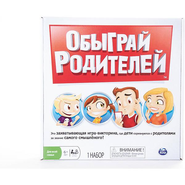 Купить Настольная игра Обыграй родителей , Spin Master, Китай, Унисекс