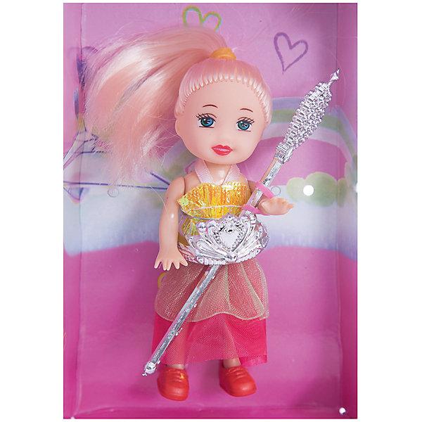 Кукла Маленькая Принцесса, EstaBellaМини-куклы<br>Кукла Маленькая Принцесса, EstaBella (Эстабелла) – эта малышка непременно порадует вашу девочку.<br>Познакомьтесь с чудесной маленькой принцессой! Ее выразительные глаза по-настоящему очаровывают. Волосы с разноцветными прядями завязаны розовыми резиночками. Малышка одета в очаровательное платье с пышной юбкой. Королевский атрибут юной принцессы - волшебная палочка. Такая кукла обязательно понравится вашей девочке и возможно станет самой любимой игрушкой.<br><br>Дополнительная информация:<br><br>- Высота куклы: 10 см.<br>- Материал: пластик, текстиль<br>- Размер упаковки: 14х4х8 см.<br><br>Куклу Маленькая Принцесса, EstaBella (Эстабелла) можно купить в нашем интернет-магазине.<br>Ширина мм: 140; Глубина мм: 40; Высота мм: 80; Вес г: 440; Возраст от месяцев: 36; Возраст до месяцев: 72; Пол: Женский; Возраст: Детский; SKU: 4552898;