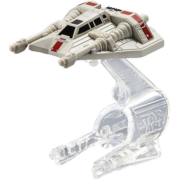 Звездный корабль Star Wars, Hot WheelsЗвездные войны<br>Эта игрушка приведет в восторг всех любителей саги Звездные войны! Звездолет повстанцев является точной копией корабля, на котором Люк Скайуокер взорвал Звезду смерти. Надевай на руку устройство light Navigator (подставку) и запускай свой звездный корабль в межгалактическое пространство! Собери все игрушки серии Hot Wheels Star Wars и устрой настоящее звездное сражение! Все элементы набора выполнены из высококачественного экологичного пластика безопасного для детей. <br><br>Дополнительная информация:<br><br>- Материал: пластик. <br>- Размер упаковки: 16х6х16,5 см.<br>- Комплектация: корабль, подставка. <br>- Длина корабля: 9 см.<br>- Высота подставки: 6 см.<br>- Совместим с другими игрушками из серии Hot Wheels Star Wars.<br><br> Звездный корабль Star Wars, Hot Wheels (Хот Вилс), можно купить в нашем магазине.<br>Ширина мм: 160; Глубина мм: 55; Высота мм: 165; Вес г: 330; Возраст от месяцев: 48; Возраст до месяцев: 96; Пол: Мужской; Возраст: Детский; SKU: 4557630;