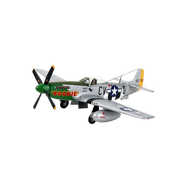 Revell Набор Самолет-истребитель P-51 D Mustang, 2-ая Мировая Война, США 1pcs steel end mill cnc drill bits 2 flute straight shank end mill cutter router milling tool 4 6 8 10 12mm