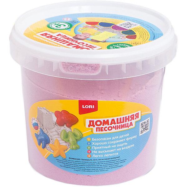 Домашняя песочница Розовый песок 1 кгКинетический песок<br>Характеристики:<br><br>• возраст: от 3 лет;<br>• в комплекте: инструкция, песок;<br>• размер упаковки: 13х13х11 см;<br>• вес: 511 г.;<br>• безопасен для детей. <br><br>С набором Домашняя песочница Розовый песок 1 кг от LORI (Лори) ребенок может лепить разные фигурки не выходя из дома. Мягкая масса не липнет к рукам, отлично держит форму и не растекается. <br><br>Игры с песком развивают фантазию ребенка, тренируют мелкую моторику, внимание и мышление.<br><br>Домашняя песочница Розовый песок 1 кг от LORI (Лори) можно купить в нашем интернет-магазине.<br>Ширина мм: 130; Глубина мм: 130; Высота мм: 120; Вес г: 1050; Возраст от месяцев: 36; Возраст до месяцев: 2147483647; Пол: Унисекс; Возраст: Детский; SKU: 4561151;