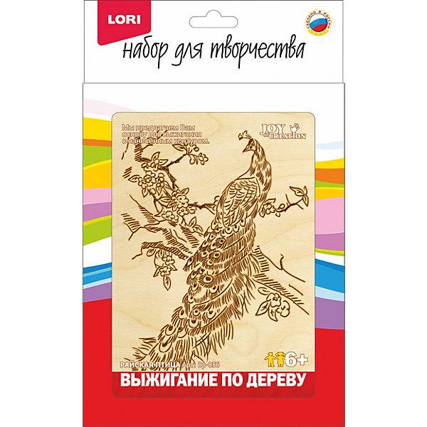 Купить Выжигание в рамке Райская птица , LORI, Россия, Унисекс