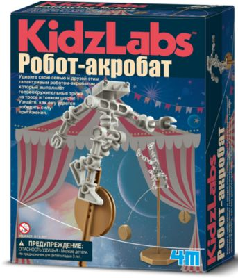 Робот акробат, 4M, артикул:4561224 - Робототехника и электроника