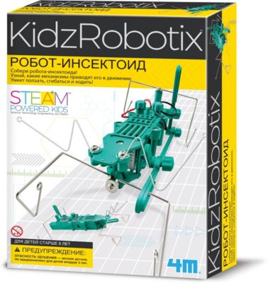Робот инсектоид, 4M, артикул:4561226 - Робототехника и электроника