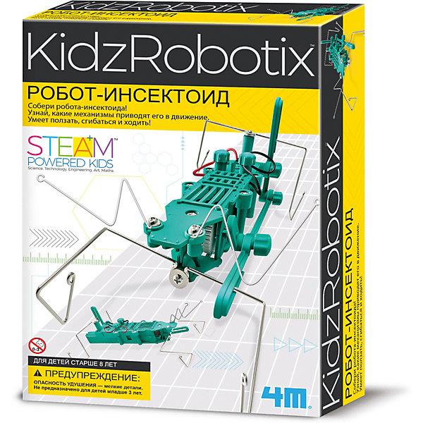 4M Робот инсектоид, 4M 4m управляемый робот кладоискатель