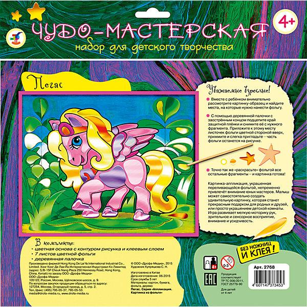 Дрофа-Медиа Картинка из фольги Пегас зрительная труба meade wilderness 15–45x65
