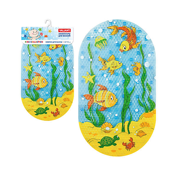 Коврик для ванны Подводный мир 69*39 смТовары для купания<br>Противоскользящий коврик из винила с присосками идеальное решение для ванной. Ваш малыш не подскользнется, а яркие принты создадут настроение для купания.<br><br>Дополнительная информация: <br><br>- возраст: от 1 года.<br>- материал: поливинилхлорид с антибактериальными добавками.<br>- размер: 69*39 см.<br>- вес: 525 гр.<br><br>Коврик для ванны Подводный мир 69*39 см. можно купить в нашем интернет-магазине.<br>Ширина мм: 390; Глубина мм: 30; Высота мм: 760; Вес г: 542; Возраст от месяцев: -2147483648; Возраст до месяцев: 2147483647; Пол: Унисекс; Возраст: Детский; SKU: 4563357;