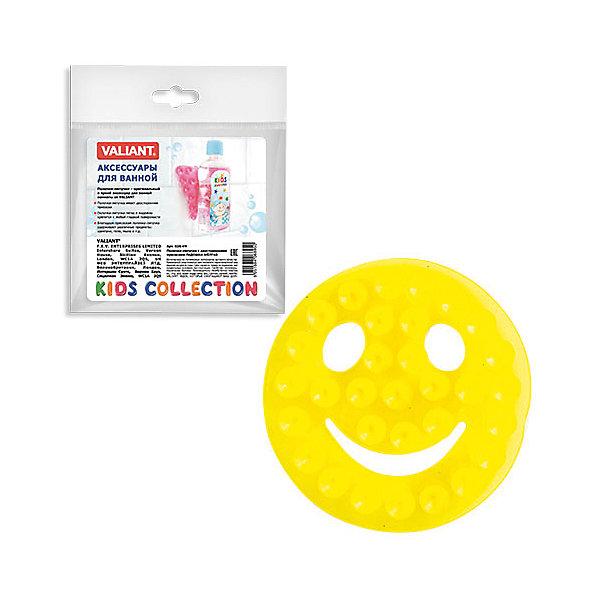 Полочка-липучка Желтый смайлик с двусторонними присоскамиАксессуары для ванны<br>Полочка-липучка - это оригинальная игрушка для купания Вашего малыша, а так же функциональное решение по удобному креплению аксессуаров для ванной комнаты: шампуни, жидкое мыло и т.д.<br><br>Дополнительная информация:<br> <br>- размер: 8 * 8 см.<br>- материал: полимеры<br><br>Полочку-липучка Желтый смайлик с двусторонними присосками можно купить в нашем интернет-магазине.<br>Ширина мм: 135; Глубина мм: 8; Высота мм: 160; Вес г: 17; Возраст от месяцев: -2147483648; Возраст до месяцев: 2147483647; Пол: Унисекс; Возраст: Детский; SKU: 4563413;