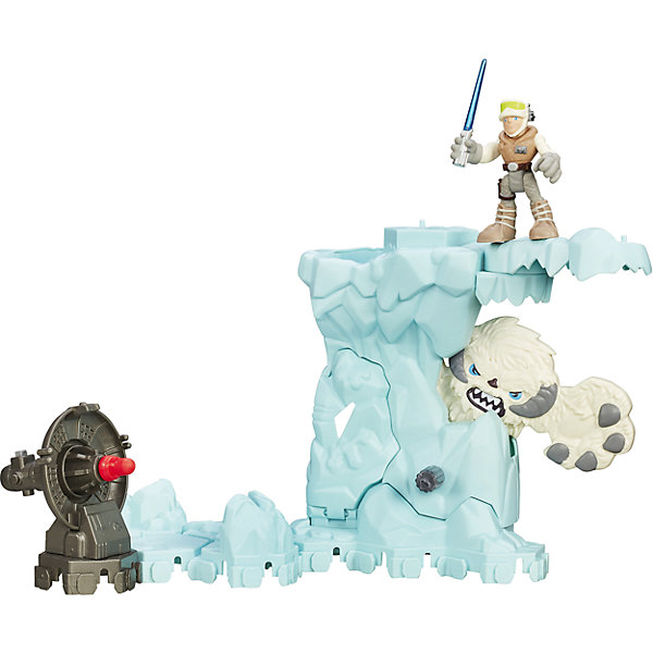 Hasbro Игровой набор Star Wars Galactic Heroes Приключение в ледяной пещере