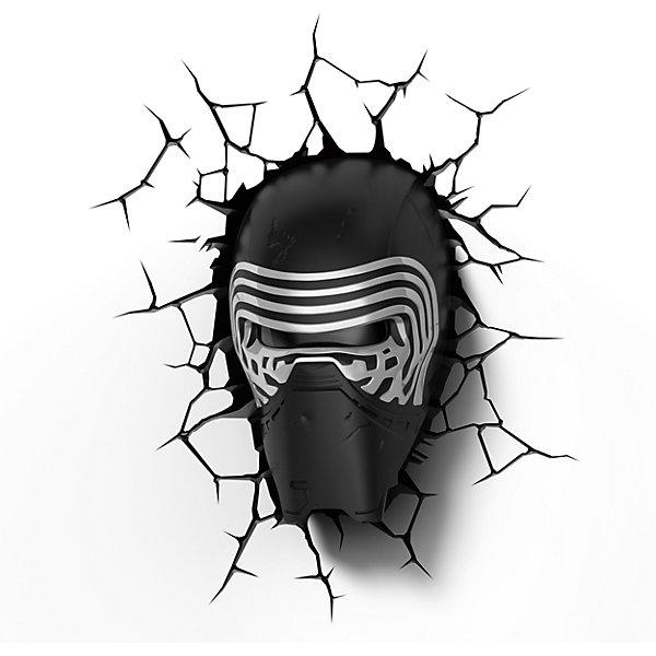 """Фотография товара пробивной 3D светильник """"Кайло Рен"""", Звёздные Войны (4566014)"""