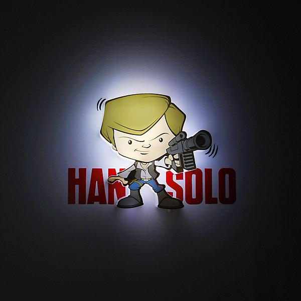 Детское время Пробивной мини 3D светильник Хан Соло, Звёздные Войны