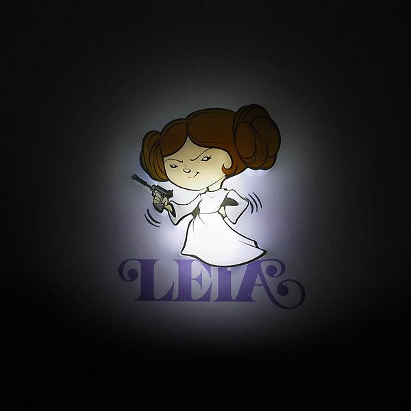 Детское время Пробивной мини 3D светильник Лея Органа-Соло, Звёздные Войны светильники 3dlightfx пробивной мини 3d starwars звёздные войны leia organa лея органа соло