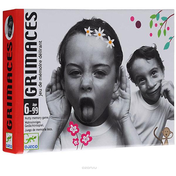 Купить Игра Гримасы, DJECO, Франция, Унисекс