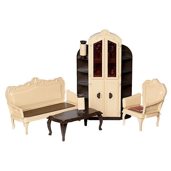 Огонек Мебель для куклы Огонёк Коллекция Гостиная