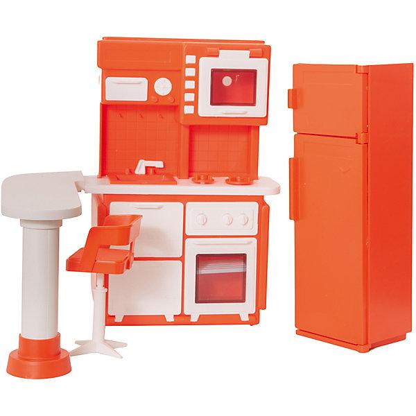 Огонек Мебель для куклы Огонёк Конфетти Кухня