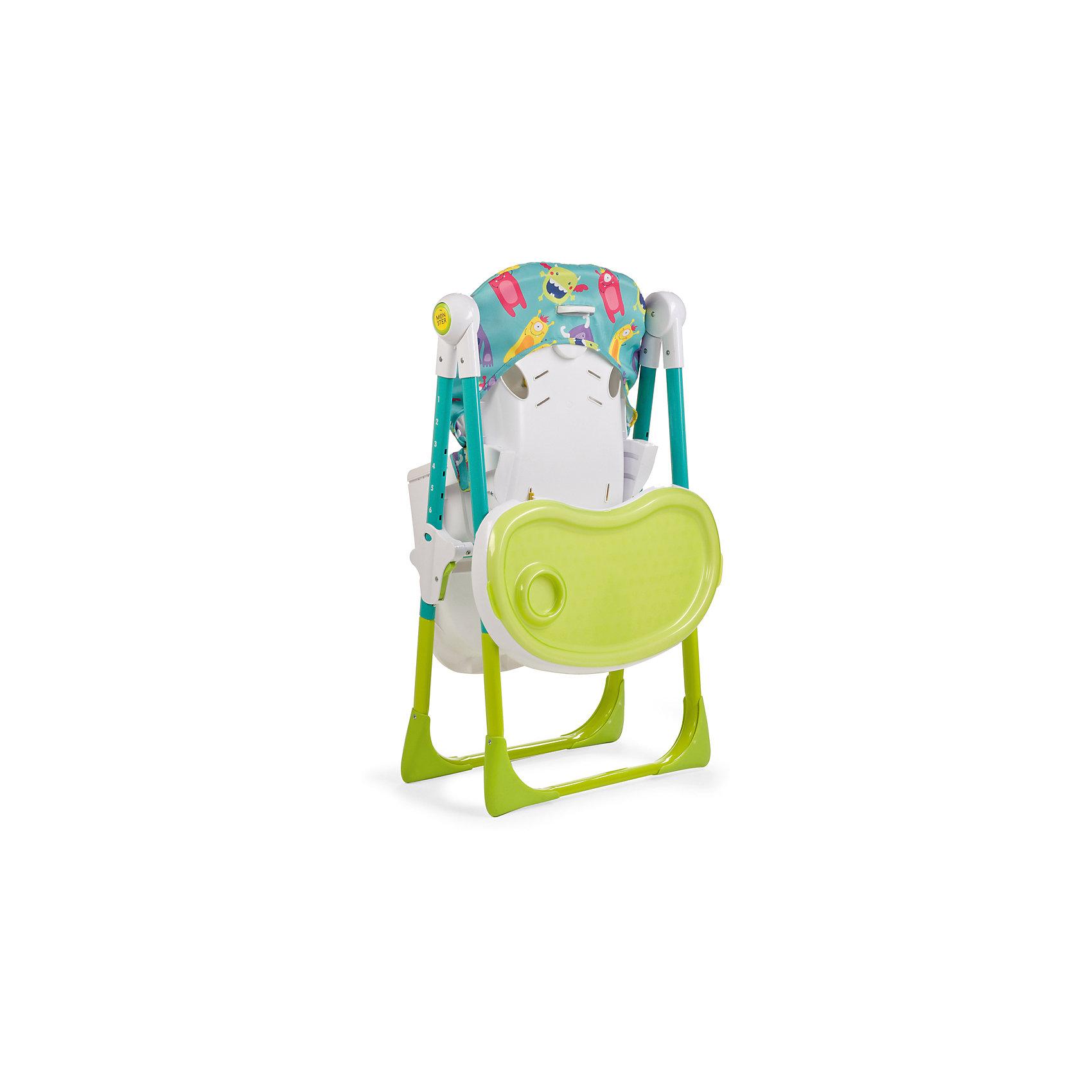 Стульчик для кормления Goodie, Happy Baby, зеленый