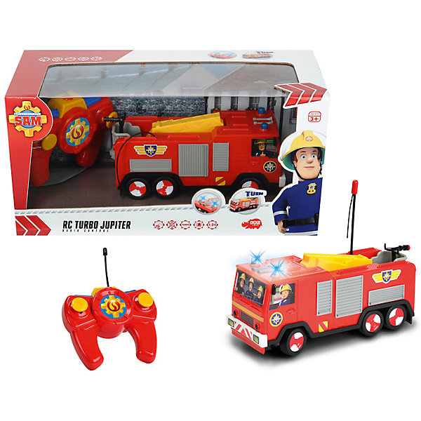 Dickie Toys Пожарная машина на р/у, Пожарный Сэм,