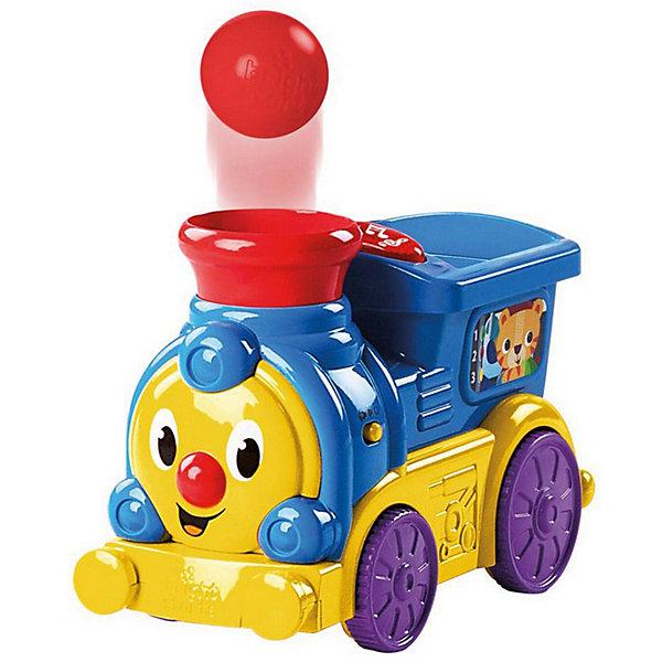 Kids II Развивающая игрушка Bright Starts Весёлый паровозик с мячиками