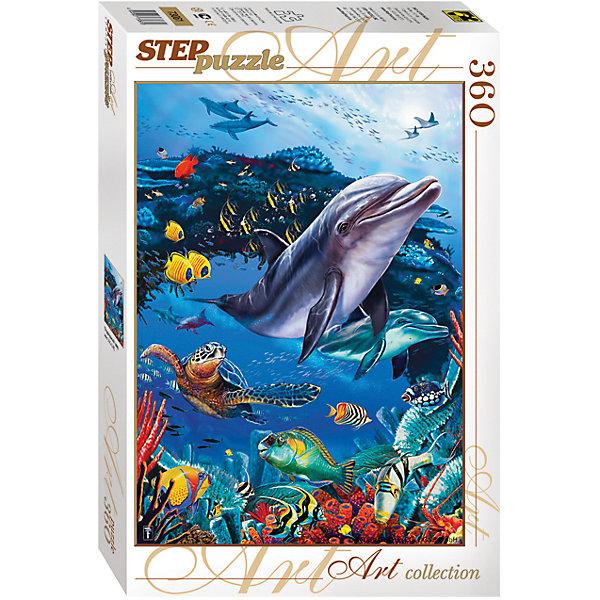Степ Пазл Пазл Подводный мир, 360 деталей, Step Puzzle степ пазл пазл барбоскины 60 деталей step puzzle