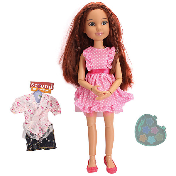 DollyToy Кукла Макияж: Романтичная девчонка, 45,5 см, с аксессуарами, DollyToy куклы и одежда для кукол defa lucy кукла с аксессуарами 26 см