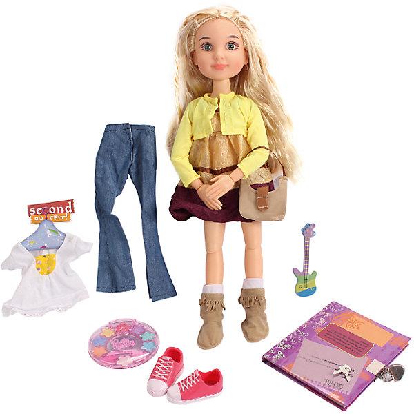 DollyToy Кукла Макияж: Фитнес девчонка, 45,5 см, с аксессуарами, DollyToy