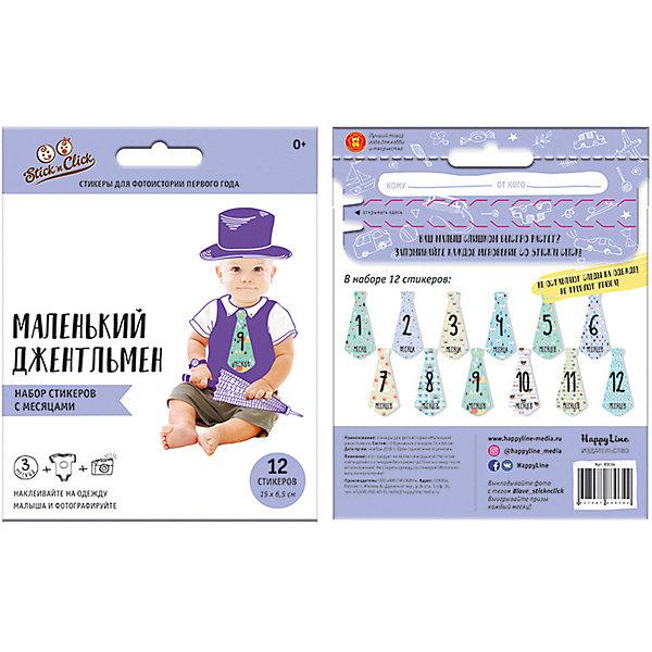 Фото - Stick'n Click Набор галстуков-наклеек для фотосессии Маленький джентльмен лис раскраска с наклейками зайкина избушка