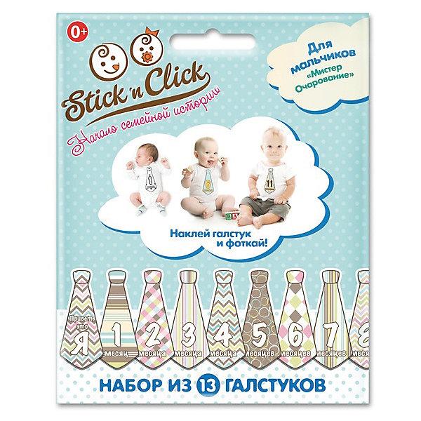 Фото - Stick'n Click Набор галстуков-наклеек для фотосессии Мистер очарование лис раскраска с наклейками зайкина избушка