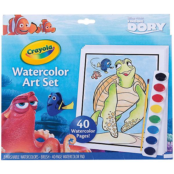 Набор с краской и раскрасками  В поисках Дори , Crayola - Раскраски