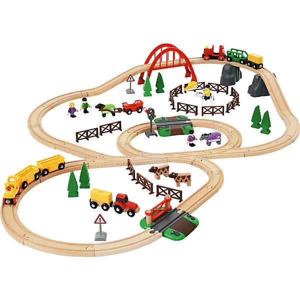 BRIO Железная дорога Загородная жизнь