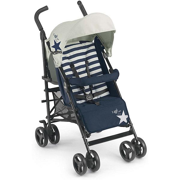 Фотография товара коляска-трость CAM Flip, синий/белый (4595117)