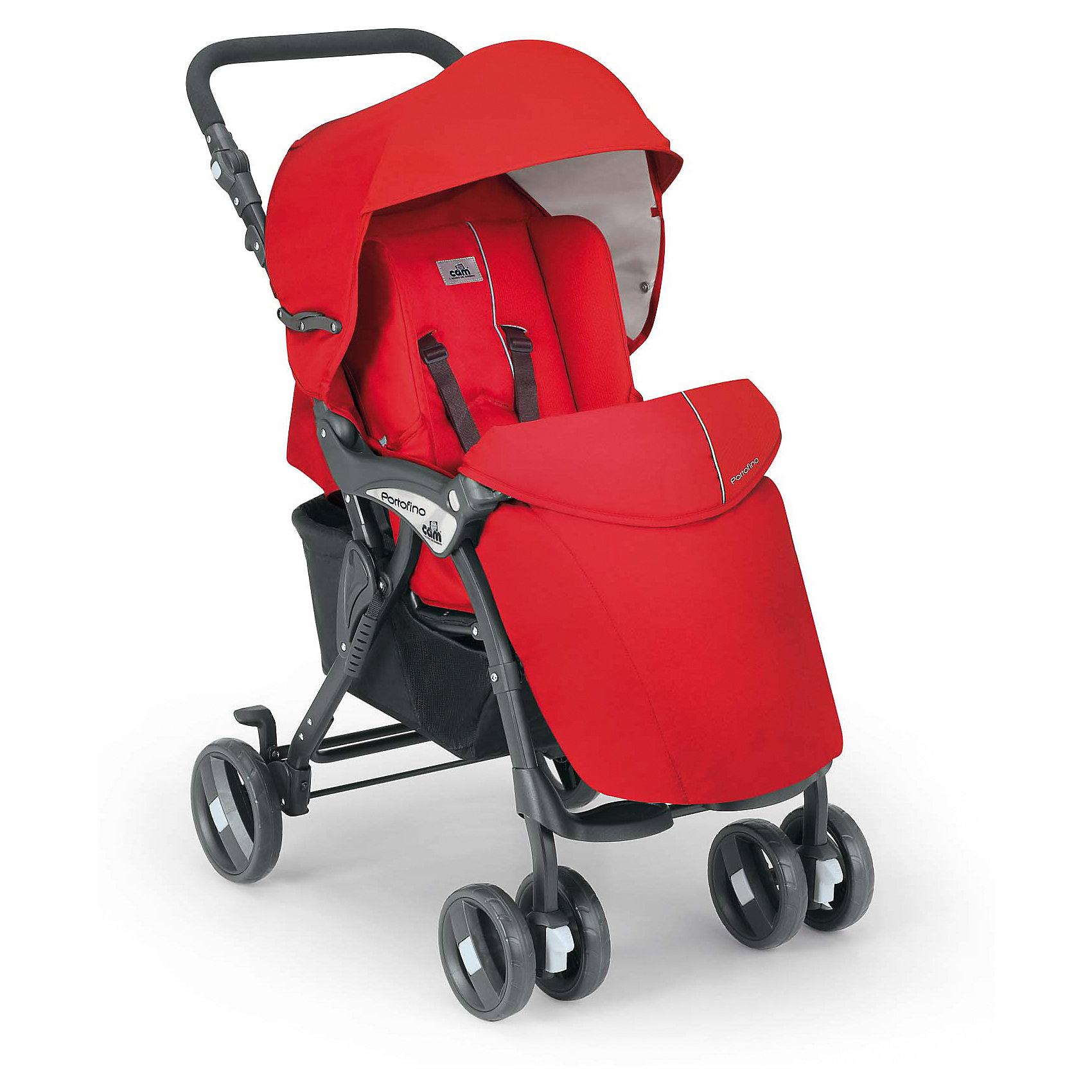 Прогулочная коляска CAM Portofino, красный