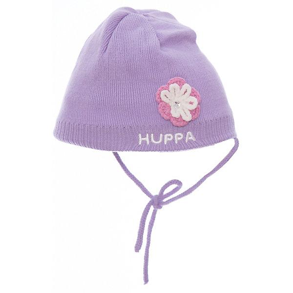 Шапка Huppa Betty для девочкиШапочки<br>Характеристики товара:<br><br>• модель: Betty;<br>• цвет: фиолетовый;<br>• состав: 50% хлопок, 50% акрил;<br>• подкладка: 100% хлопок;<br>• температурный режим: от 0°С до +10°С;<br>• сезон: демисезон;<br>• особенности: вязаная;<br>• шапка на завязках;<br>• декорирована вязаным цветком;<br>• светоотражающий элемент;<br>• страна бренда: Эстония;<br>• страна изготовитель: Эстония.<br><br>Демисезонная вязаная шапка. Шапка с мягкой хлопковой подкладкой и мягкой резинкой, которая не давит. Шапка на завязках декорирована вязаным цветочком. Дополнена светоотражающим элементом.<br><br>Шапку Betty от бренда Huppa (Хуппа) можно купить в нашем интернет-магазине.<br>Ширина мм: 89; Глубина мм: 117; Высота мм: 44; Вес г: 155; Цвет: розовый; Возраст от месяцев: 12; Возраст до месяцев: 24; Пол: Женский; Возраст: Детский; Размер: 47-49,51-53,43-45,39-43; SKU: 4595785;