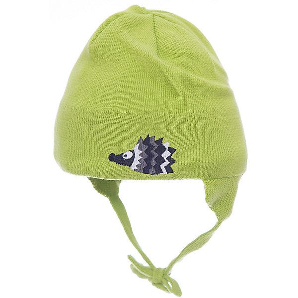 Шапка Huppa Doody для мальчикаШапочки<br>Характеристики товара:<br><br>• модель: Doody;<br>• цвет: салатовый;<br>• состав: 100% хлопок;<br>• температурный режим: от 0°С до +10°С;<br>• сезон: демисезон;<br>• особенности: вязаная;<br>• шапка на завязках;<br>• декорирована аппликацией;<br>• светоотражающий элемент;<br>• страна бренда: Эстония;<br>• страна изготовитель: Эстония.<br><br>Демисезонная вязаная шапка. Шапка с мягкой резинкой, которая не давит. Шапка на завязках декорирована аппликацией спереди. Дополнена светоотражающим элементом.<br><br>Шапку Doody от бренда Huppa (Хуппа) можно купить в нашем интернет-магазине.<br>Ширина мм: 89; Глубина мм: 117; Высота мм: 44; Вес г: 155; Цвет: желтый; Возраст от месяцев: 9; Возраст до месяцев: 12; Пол: Мужской; Возраст: Детский; Размер: 43-45,47-49,39-43,51-53; SKU: 4595810;
