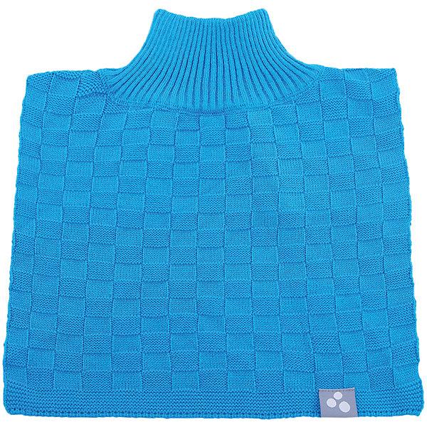 Манишка Huppa Sonnet для мальчикаШарфы, платки<br>Характеристики товара:<br><br>• модель: Sonnet;<br>• цвет: голубой;<br>• состав: 50% хлопок, 50% акрил;<br>• температурный режим: от 0°С до -20°С;<br>• сезон: демисезон;<br>• особенности: вязаная;<br>• светоотражающий элемент;<br>• страна бренда: Эстония;<br>• страна изготовитель: Эстония.<br><br>Вязаная манишка. Манишка сохранит шею в тепле при холодах и сильных ветрах. Дополнена светоотражающей эмблемой. Можно носить как в демисезонную погоду, так и поддевать в сильные холода.<br><br>Манишку Sonnet от бренда Huppa (Хуппа) можно купить в нашем интернет-магазине.<br>Ширина мм: 88; Глубина мм: 155; Высота мм: 26; Вес г: 106; Цвет: голубой; Возраст от месяцев: 84; Возраст до месяцев: 120; Пол: Мужской; Возраст: Детский; Размер: 55-57,47-53; SKU: 4595818;