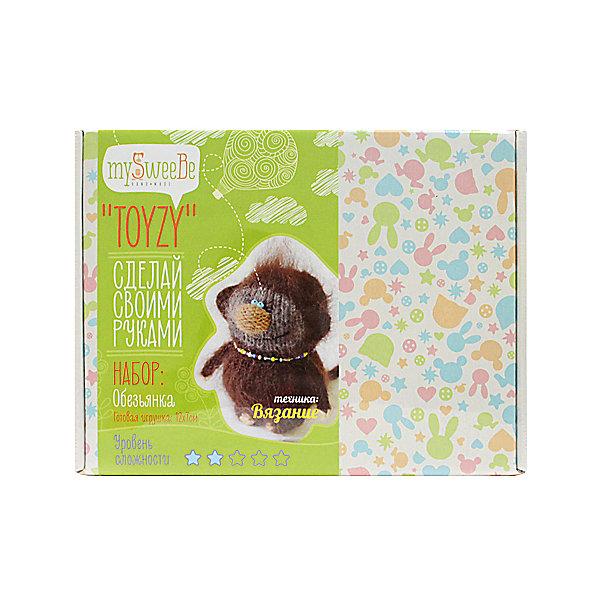 TOYZY Набор для вязания Toyzy Обезьянка набор для вязания и валяния toyzy овечка tz m002